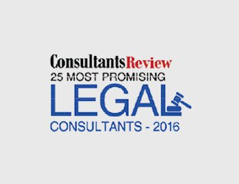 One of the 25 Most Promising Legal Consultants 2016