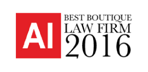 'Best Boutique Law Firm – India'